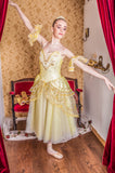 Just Ballet golden Juliet dress