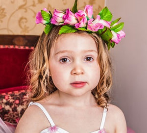 Rose bud crown - Just Ballet