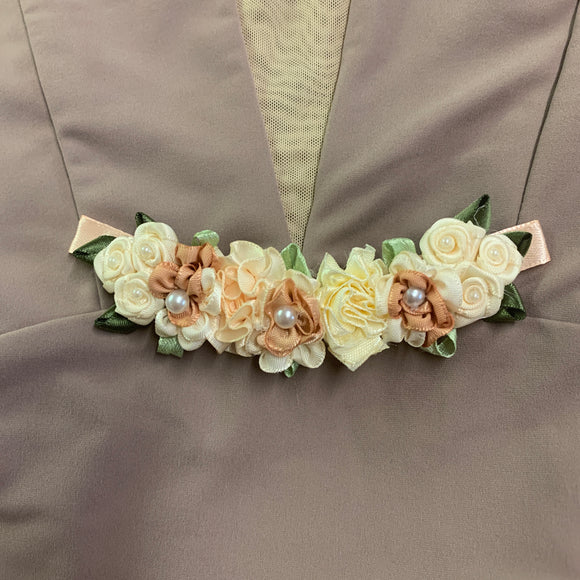 Floral Buns - Luxe Bun Garland with Pin Loops
