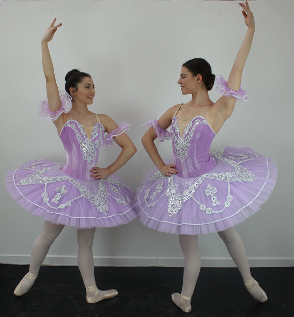 Just Ballet velvet Lilac tutu - Hire Only