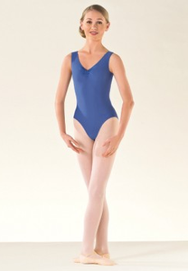 ISTD Tank leotard with ruche - Just Ballet