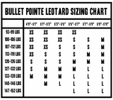 Bullet Pointe Pinch front leotard
