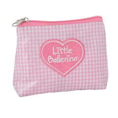 Little Ballerina zip purse