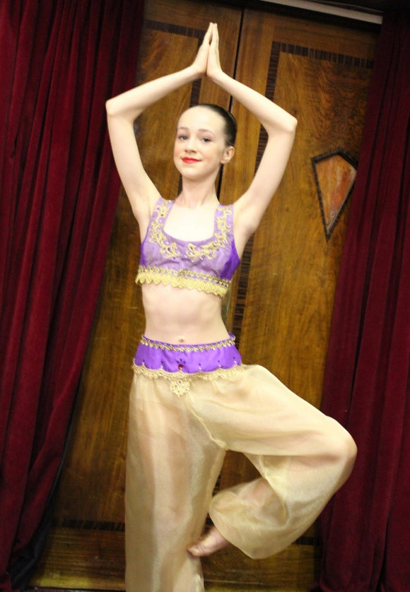 Just Ballet Arabian silk dupion two piece - Just Ballet