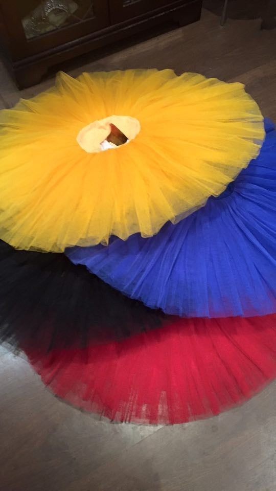 Just Ballet Coloured practice tutu - Just Ballet