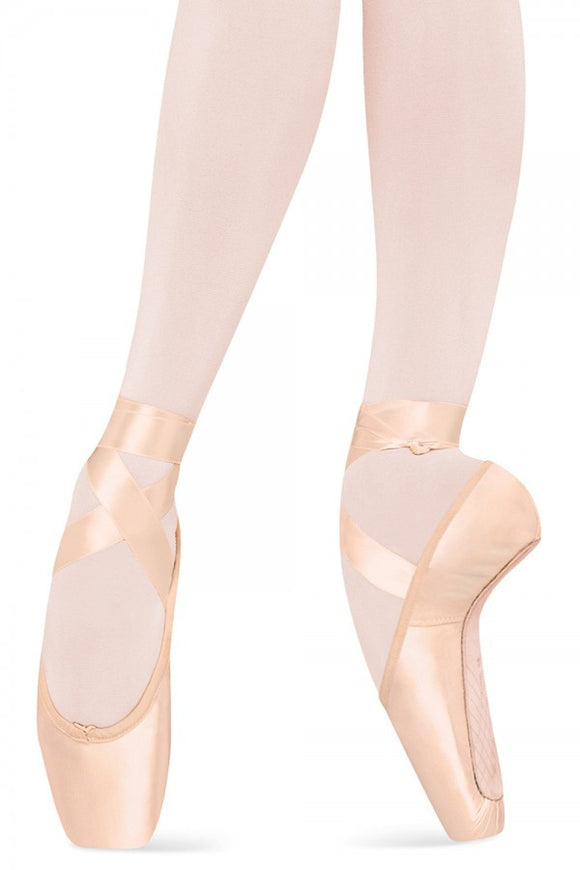 Russian Pointe quilted warm-up boots