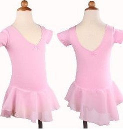 Just Ballet skirted leotard with diamante trim - Just Ballet