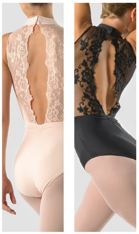 Ballet Rosa Amelie lace back leotard