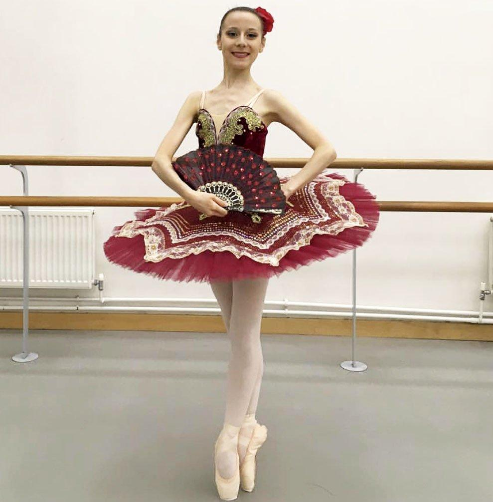Just Ballet Spanish style Don Quixote tutu - Hire only
