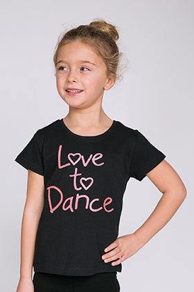 Little Ballerina Love to Dance T-shirt