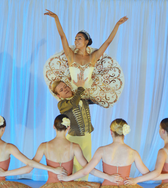 Paquita/Kitri Golden tutu  - Hire only