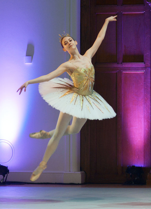 Sleeping Beauty Jewels Golden Tutu  - Hire only