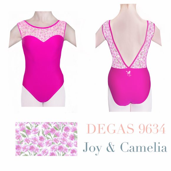 JB X Degas Exclusive - 9634 Joy Print