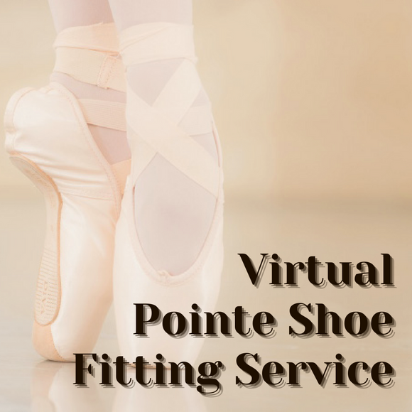 Virtual Pointe Shoe Fitting