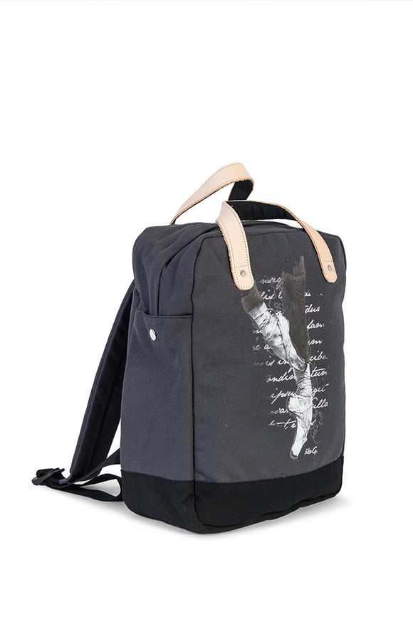 Like-G Pointe shoe rucksack - Black