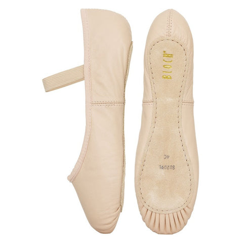 Bloch Arise leather ballet shoe - Pink - Just Ballet