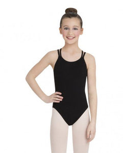 Capezio cross back Child's leotard CC123C