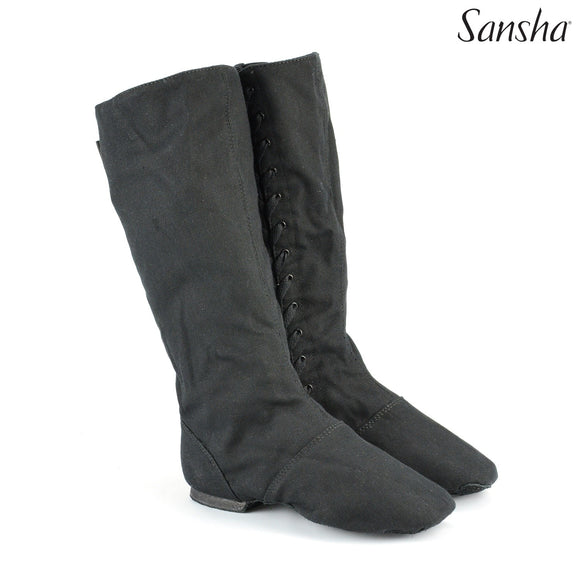 Sansha Don Duval canvas boots