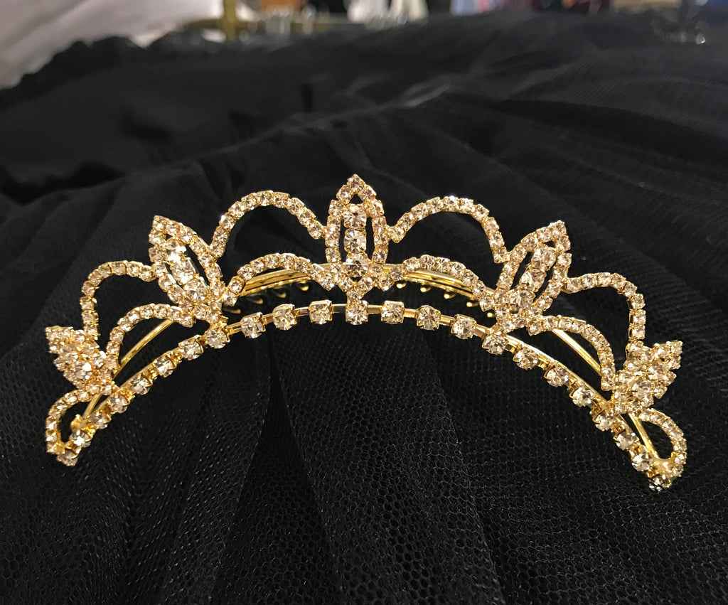 Liberty gold tiara