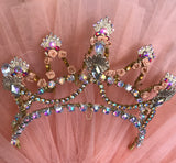 Finger Fairy Gold Head Piece Tiara