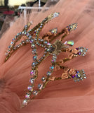 Finger Fairy Gold Head Piece Tiara - Hire Only