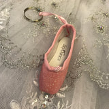 So Danca Glitter Pointe shoe key ring