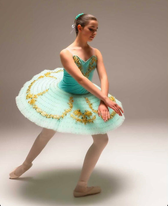 Benefis Tiffany blue pancake tutu - hire only