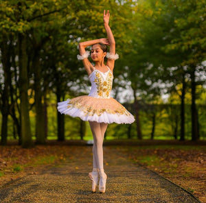 Just Ballet Golden Rose tutu - Hire Only