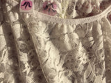 Tulips lace ballet skirt