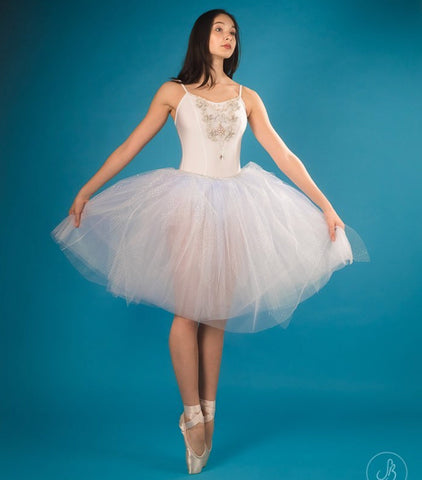 Romantic tutu dress - Snowflake or Snow Queen- Hire only