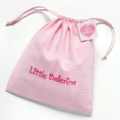 Little Ballerina drawstring bag - Just Ballet