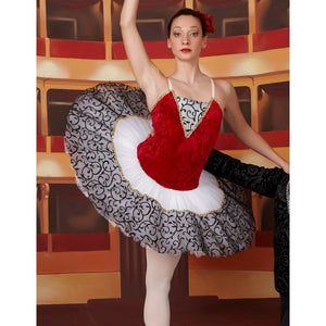 Harmony red velvet tutu - Hire only