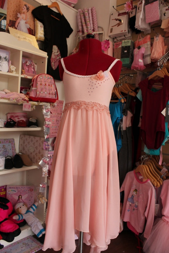 Just Ballet peach lyrical dress - Just Ballet