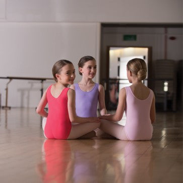 Light Pink tank ballet leotard