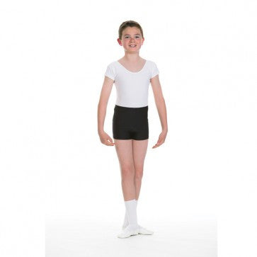 First Position cap sleeve matt lycra leotard