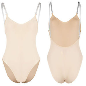 Camisole nude bodystocking leotard