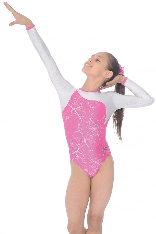 The Zone Sorbet Long sleeve leotard