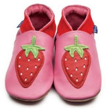 Strawberry baby shoes by Inch Blue - Just Ballet