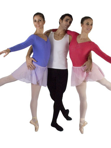 Ballet Rosa Vincent men's footed tights - Matt Lycra