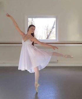 Just Ballet skirted leotard lyrical dress