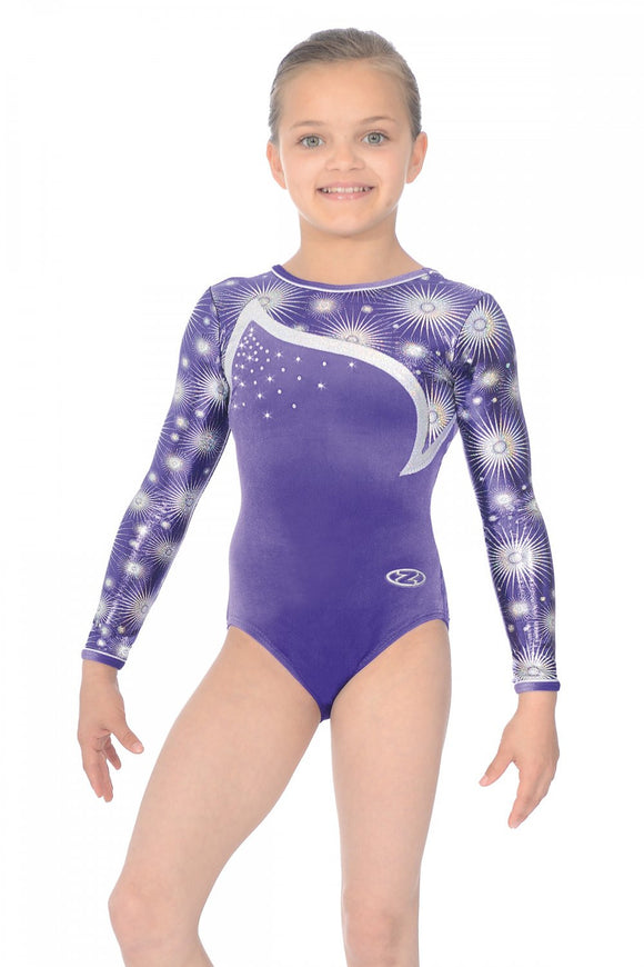 The Zone Zodiac long sleeve leotard