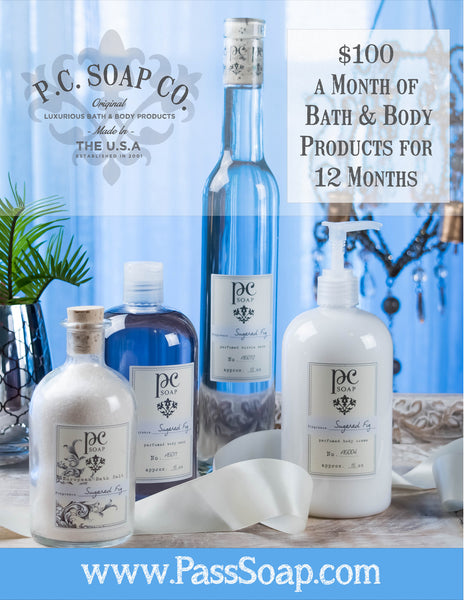 Bid On P.C. Soap and help your furry friends.
