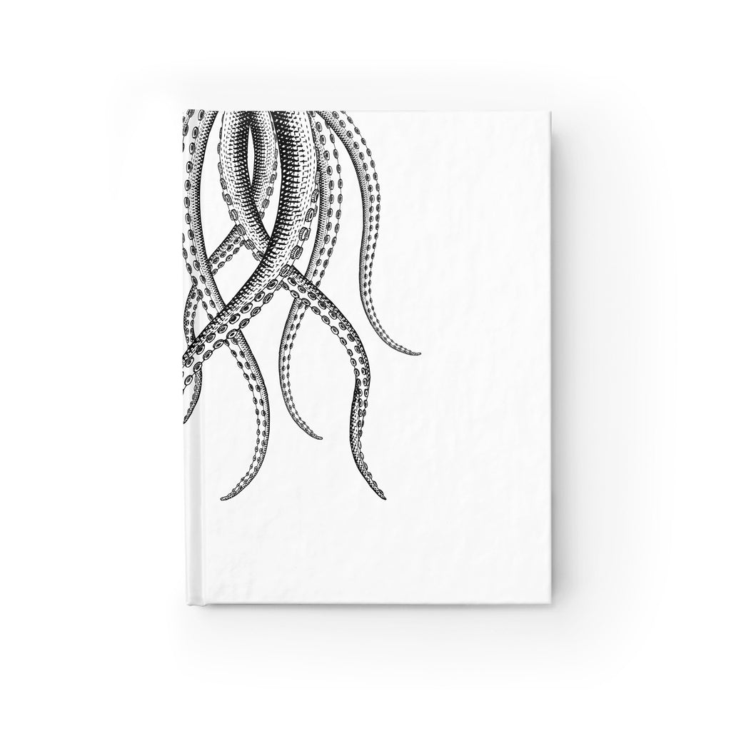 Vintage Octopus Journal - Ruled Line