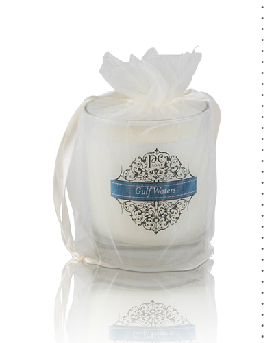 GULF WATERS SCENTED CANDLE, 7 OZ.
