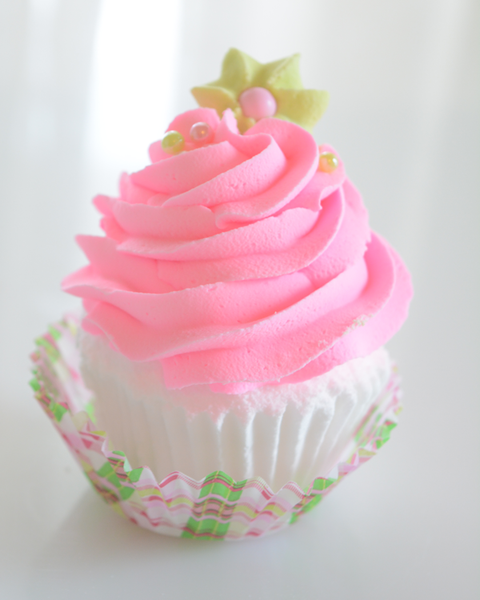 Gypsy Rose Bubbling Bath Cupcake