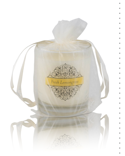 Fresh Lemongrass Perfumed  Candle