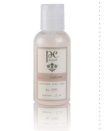 Cashmere Perfumed Body Wash 2 oz.
