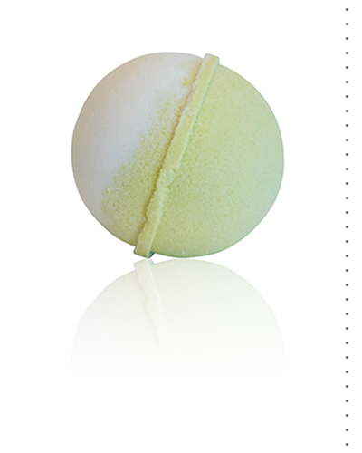 Ginger Lime Fizzing Bath Bomb