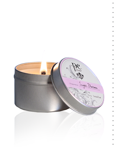 Sugar Blossom Perfumed Travel Candle