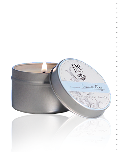 Summer Fling Perfumed Travel Candle